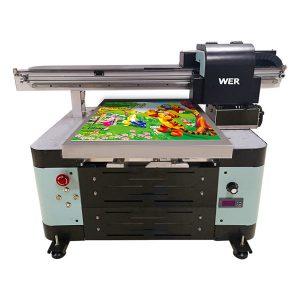 goede prijs a2 flatbed kleine uv printer met epson printkop