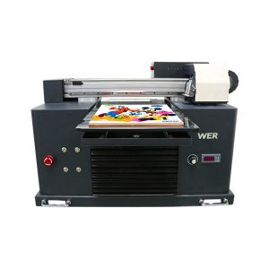 a4 uv flatbed printer voor metalen fles