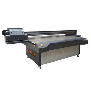 uv-flatbed inkjetprinter WER-ET2513UV printkop op hoge snelheid