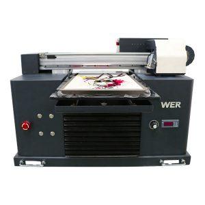 a4 dtg flatbed katoenen printer t-shirt drukmachine