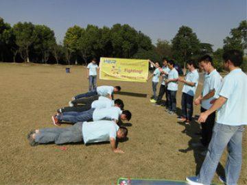 Activiteiten in Gucun Park, herfst 4 2017