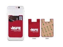Zelfklevende portefeuilles voor mobiele telefoons