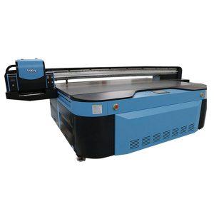 FAQ 1. Op welk materiaal kan de uv-printer worden afgedrukt? printers zijn multifunctionele printers: het kan afdrukken op alle materialen zoals telefoonhoesje, leer, hout, plastic, acryl, pen, golfbal, metaal, keramiek, glas, textiel en stoffen enz ... 2.Can LED-UV-printer print reliëf effect? Ja, het kan reliëfeffect afdrukken, voor meer informatie of foto's van monsters, neem contact op met onze vertegenwoordiger. 3. Moet er een pre-coating op worden gespoten? Haiwn uv-printer kan rechtstreeks witte inkten bedrukken en geen voorcoating nodig. 4. Hoe kunnen we de printer gaan gebruiken? We sturen de handleiding en de lesvideo met het pakket van de printer. Lees voordat u de machine gebruikt de handleiding en bekijk de lesvideo en werk strikt volgens de instructies. We bieden ook een uitstekende service door gratis technische ondersteuning online te bieden. 5. Wat over de garantie? Onze fabriek biedt een jaar garantie: alle onderdelen (met uitzondering van printkop, inktpomp en inktpatronen) vragen bij normaal gebruik, zullen binnen een jaar nieuwe bieden (exclusief verzendkosten). Na een jaar, alleen opladen tegen kostprijs. 6. wat zijn de printkosten? Meestal kan 1,25 ml inkt worden ondersteund om een afbeelding op volledig formaat A3 af te drukken. De afdrukkosten zijn erg laag. 7.hoe kan ik de printhoogte aanpassen? Haiwn-printer installeert infraroodsensor zodat de printer automatisch de hoogte van de afdrukobjecten kan detecteren. 8. Waar kan ik de reserveonderdelen en inkten kopen? Onze fabriek biedt ook reserveonderdelen en inkten, die u rechtstreeks bij onze fabriek of bij andere leveranciers op uw lokale markt kunt kopen. 9. wat over onderhoud van de printer? Over onderhoud raden we aan de printer eenmaal per dag in te schakelen. Als u de printer niet langer dan drie dagen gebruikt, reinigt u de printkop met reinigingsvloeistof en plaatst u de beschermende cartridges op de printer (beschermende cartridges worden speciaal gebruikt om de printkop te bescher